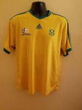 South Africa National Team Adidas Soccer Jersey Gently Used Size L