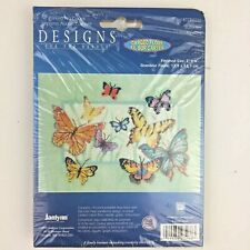 Designs for the Needle Butterflies no count cross stitch kit 023-0266 5x7