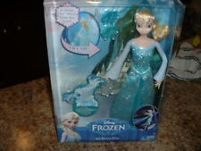 Disney Frozen Ice Power Elsa Doll With Three Wands NEW NEVER OPENED