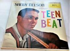 Sandy Nelson Plays Teen Beat 1960 Imperial 12044 Stereo R&R Drums Vinyl LP VG+