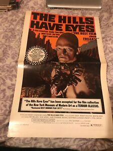 the hills have eyes poster new line cinema 1978