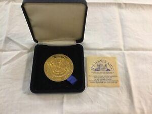 Official Millennium Greenwich Mint Medallion 2000