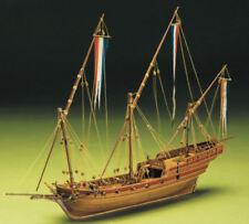 Mantua Models Xebec 1:49 Scale Model Period Ship Kit in Wood