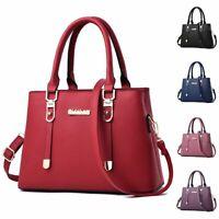 Women Handbag Leather Lady Shoulder Bag Messenger Satchel Cross Body Tote Purse