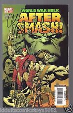 World War Hulk Aftersmash #1 Iron Man Signed by Greg Pak W/COA New Marvel Movie