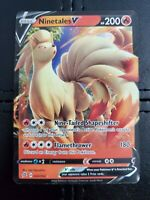 Nientales V SWSH02: Rebel Clash Pokemon TCG: Ultra Rare: Pack Fresh