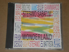 STEFANO SABATINI - WONDERLAND - RARO CD