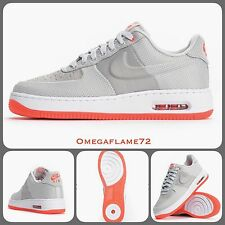 Nike Air Force 1 Elite Max 07 AF1 748299-001 Light Grey Crimson UK 9 EU 44 US 10