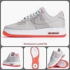 Nike Air Force 1 Elite Max 07 AF1 748299-001 Gris Claro Carmesí UK 9 EU 44 nos 10