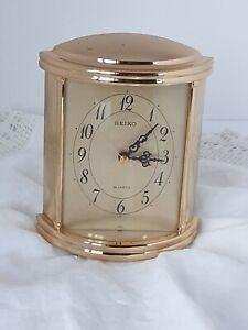 Vintage Seiko Quartz  Alarm Desk Clock - QEJ226