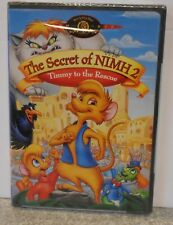 The Secret of NIMH 2: Timmy to the Rescue (DVD 2001) VERY RARE BRAND NEW