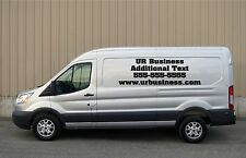Custom Vinyl Decal Business Lettering Window Sticker Car Van Truck