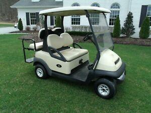 2012 Club Car Precedent Golf Cart 48V 4 seater + lights ! 2018 Batteries