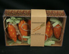 Gardeners Eden 6ft Knit Carrot Garland - NIP - Brand New!