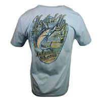 "Hooked Up Men's T-shirt ""Island Shores"" Bar & Grill  Fishing,  Bahama Beach"