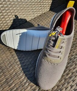 Cole Haan Mens Size 12M Zerogrand Generation Stitchlite Sneaker Gray C30170