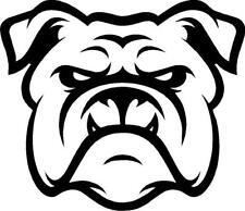 Bulldog Face Outline vinyl decal/sticker cute animal Dog Family Pet