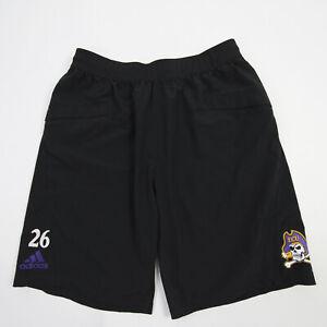 East Carolina Pirates adidas Climalite Athletic Shorts Men's Black Used