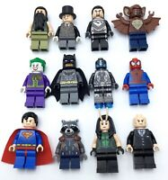 LEGO NEW SUPER HERO MINIFIGURES MARVEL DC COMICS GENUINE COLLECTIBLES YOU PICK!