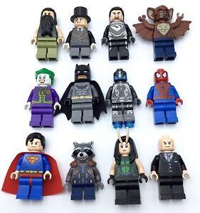 LEGO NEW SUPER HERO MINIFIGURES MARVEL DC COMICS GENUINE COLLECTIBLES YOU PICK!