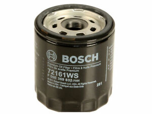 Bosch Workshop Oil Filter fits Plymouth Turismo 2.2 1985-1986 VIN: 8 37WRSS