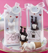 Hot Sale Headstand Groom And Bride Bottle Stopper Wedding Party Favors 10pairs