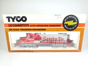 Vintage Tyco Santa Fe GP-20 Powered Locomotive HO Scale Train NOS