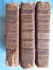 MADAME DE GOMEZ : LES JOURNEES AMUSANTES, 1744. 6 vol. (sur 8). David d'Angers.