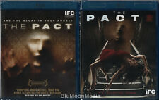 The Pact 1 & 2 BLU-RAY Lot Complete 2 Movie Collection Horror Brand NEW