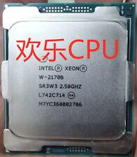 Intel Xeon W-2170B 14 core 28 thread 2.5G processor SR3W3 CPU LGA2066 CPU