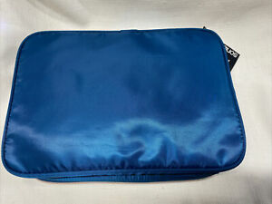 Sonia Kashuk Teal Travel Tote New with Tags 2 Zippered Sections