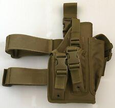 New Airsoft MK23 Desert Eagle USP Tactical Dropleg Pistol Holster Coyote Tan