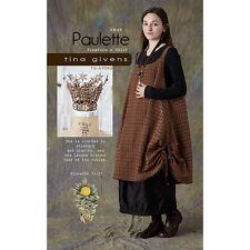"TINA GIVENS ""PAULETTE PINAFORE & SKIRT"" Sewing Pattern"