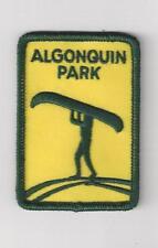 Algonquin Park Ontario Souvenir Patch