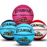 Kuangmi Colorful Basketball Junior Kids Children Basket Ball Size 5