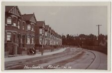 Harlesden Road, Willesden, London RP Postcard B787
