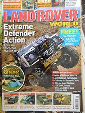Land Rover World 08/2007 Series 1 2 3 Defender Range Discovery Freelander