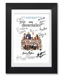 DINNERLADIES CAST SIGNED POSTER TV SHOW PRINT PHOTO AUTOGRAPH GIFT VICTORIA WOOD
