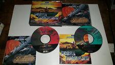 Sega Mega CD Boxed Game * DOUBLE GAME SOL-FEACE + COBRA COMMAND  Megadrive GGG
