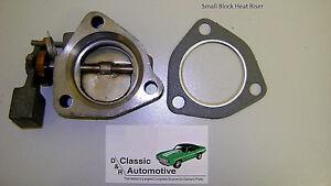 Exhaust Manifold Heat Riser w/Gasket Camaro Chevelle Small Block Nova El Camino
