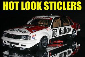 1:18 Brock Missing Vinyl Decals 1980 Sandown 400 Winner Holden VC Commodore HDT