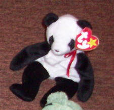 EUC Beanie Baby  Fortune the panda 1998  by TY Inc.