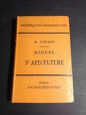 Apiculture - Girard - Manuel de l'Apiculture - Baillière - Q1
