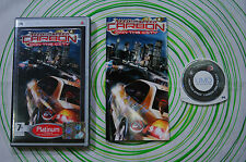 Need for speed carbon platinum Psp pal