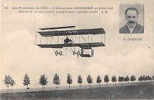 CPA AVIATION PIONNIERS AIR L'AEROPLANE COCKBRUN EN PLEIN VOL