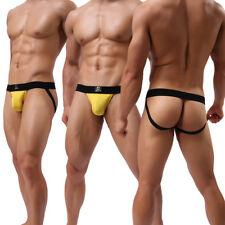 HOT Men's Sexy Backless Underwear G-string Thongs Briefs Jockstrap Bikini T-Back
