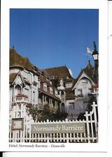 hotel normandy barriere deauville  france postcard