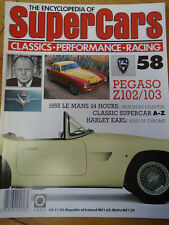 Encyclopedia of Super Cars 58 Pegaso Z102/103