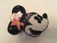 MINNIE MOUSE SEQUIN BEADED BOX CONTAINER Disney Trinket