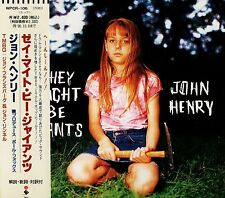 THEY MIGHT BE GIANTS John Henry FIRST PRESS JAPAN CD OBI WPCR-106